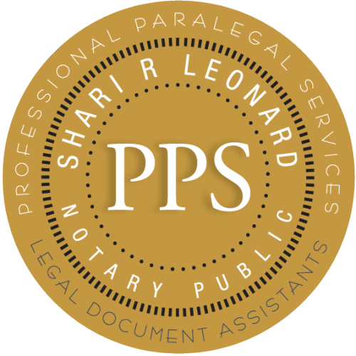 Home PPS Legal Document Assistants - Help with legal documents