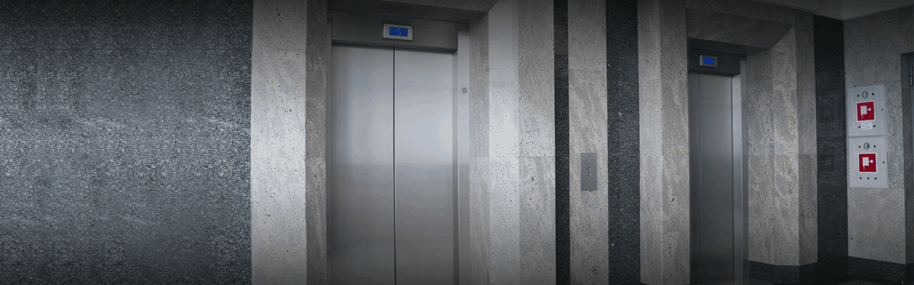 side-by-side elevators