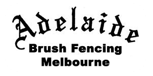 adelaide brush fencing