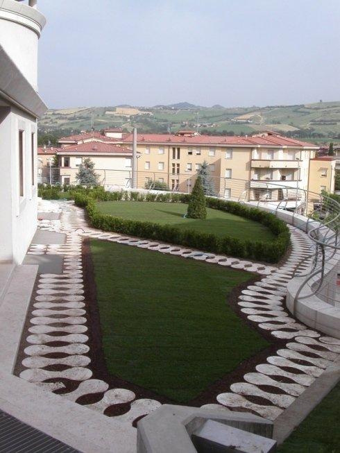 giardini su terrazzi e tetti