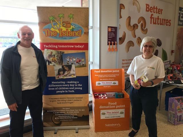 Sainsburys Food Bank Donation Drive For The Island York