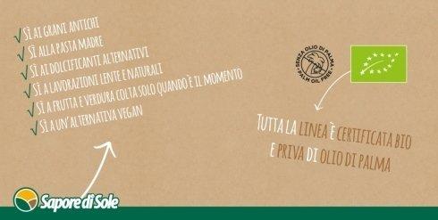 Prodotti biologici certificati e privi di Olio di Palma - Gustolandia Arezzo