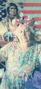 old photo of Aunt Louise Foussat