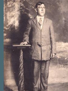 antique photo of Uncle Indian Joe