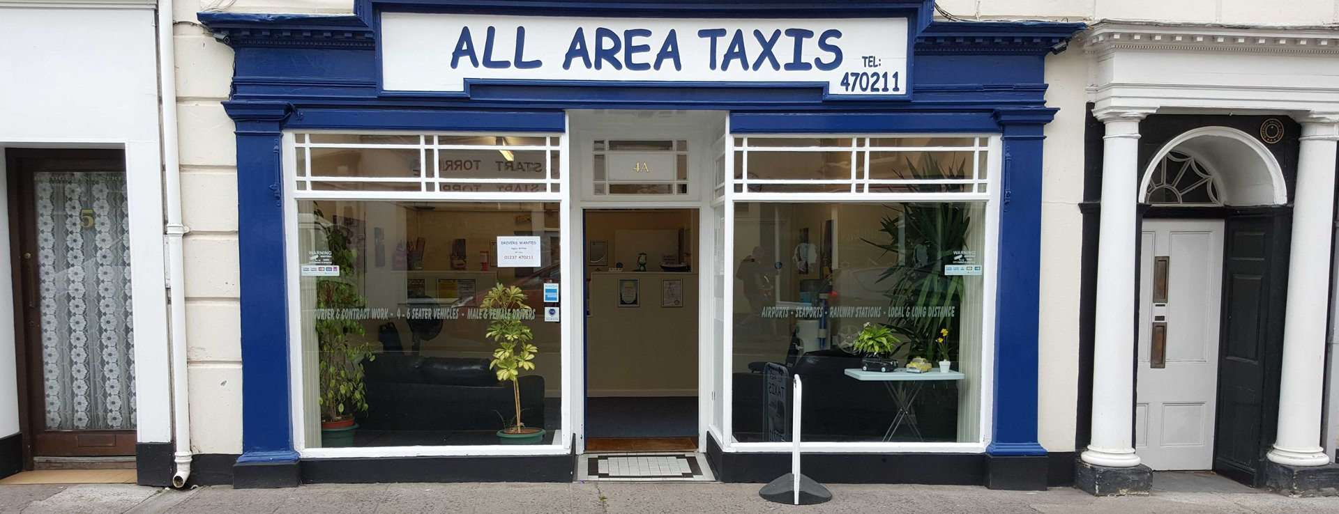 All Area Taxis store