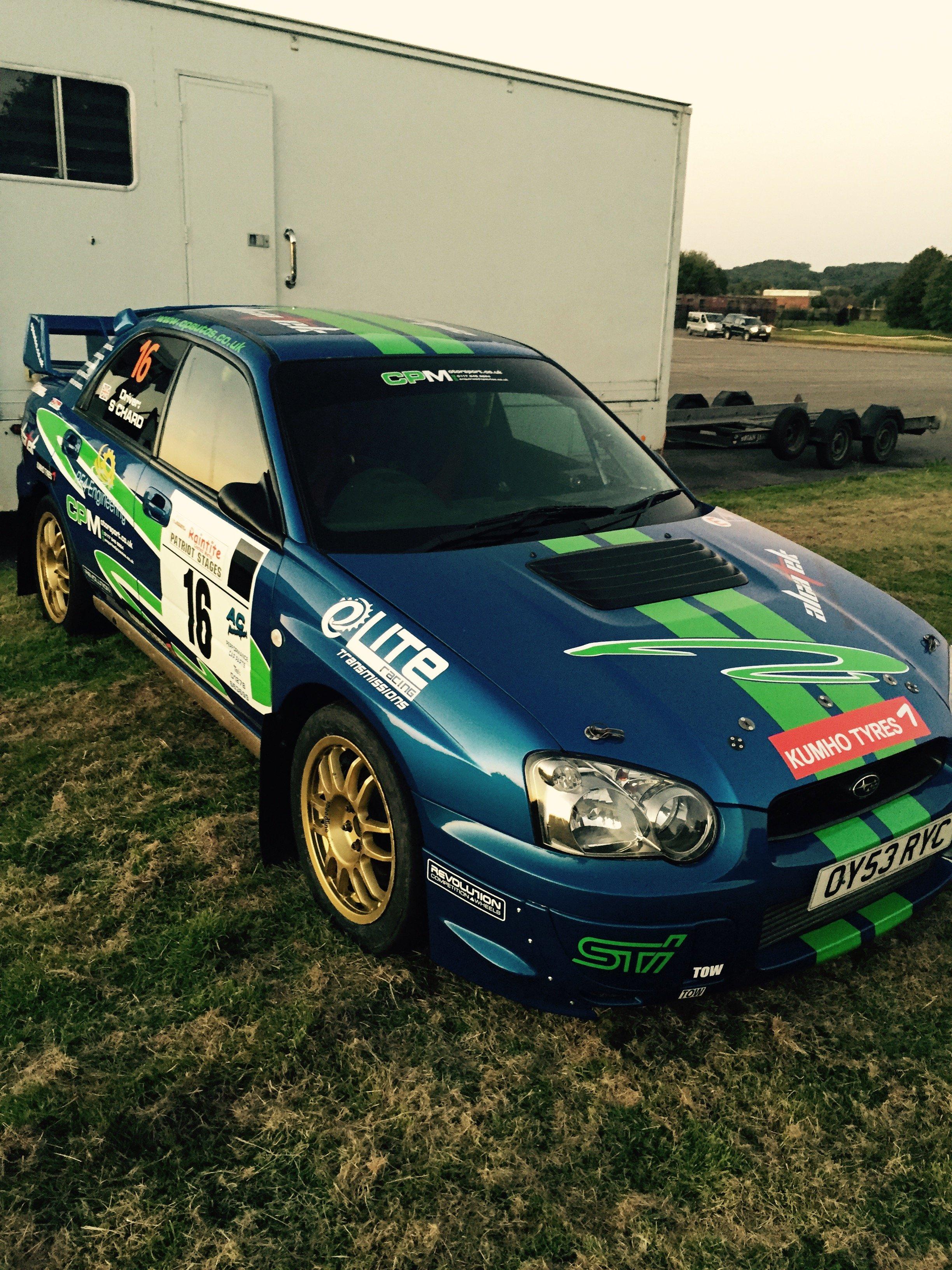 rally car engine tuning