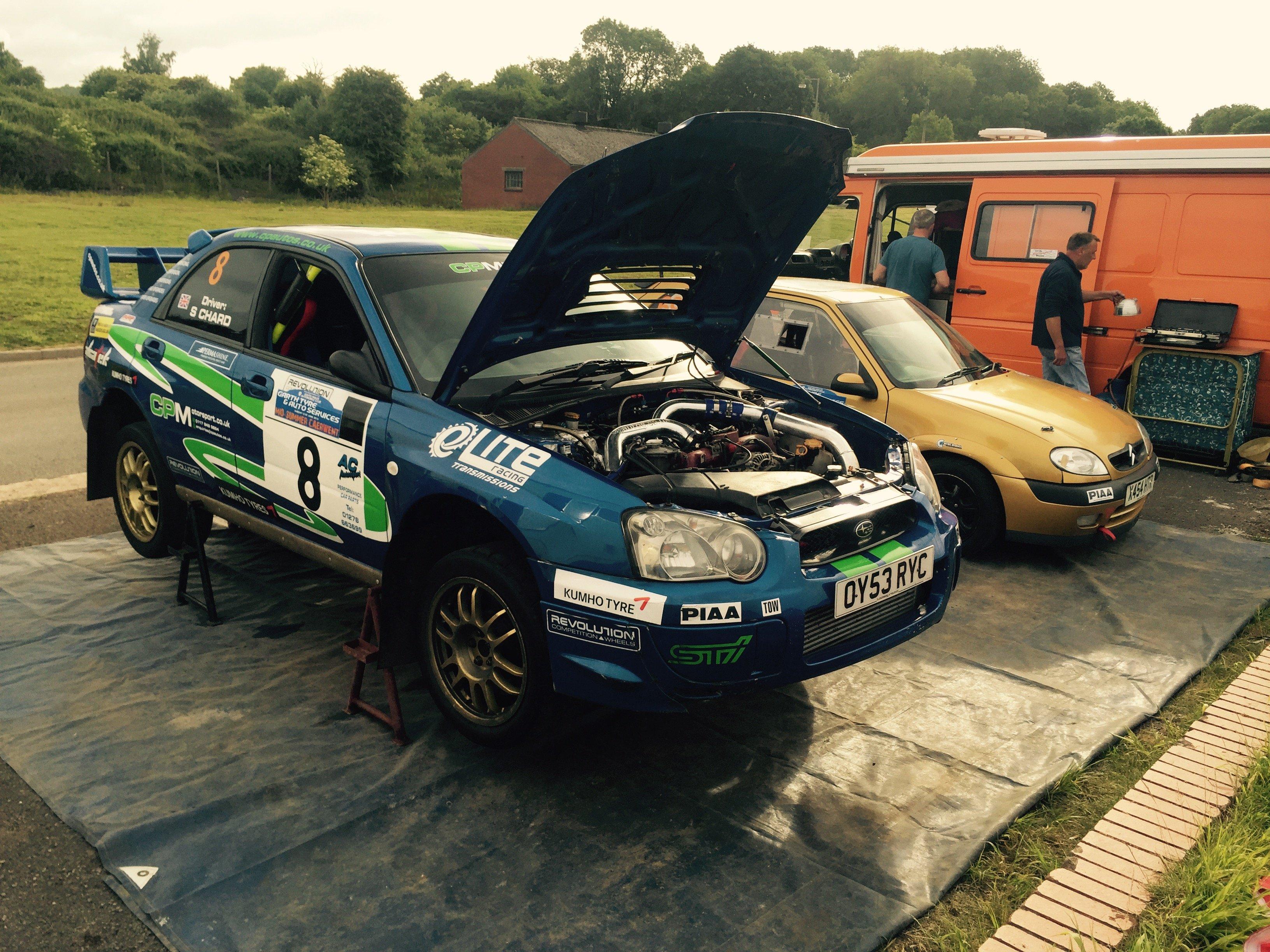 rally vehicle tuning