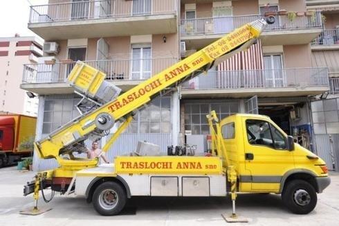 Camion con scala