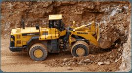 macchinario per scavi