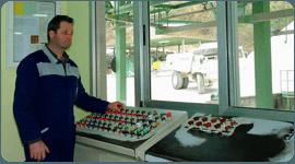 cabina controllo macchinari