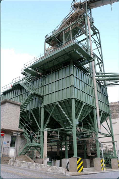 Il nostro impianto principale della cava.