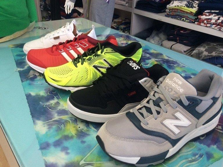 delle scarpe New Balance