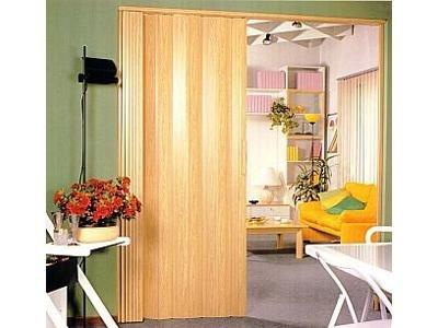Porte soffietto colore legno