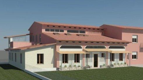 progetto computerizzata abitazione in mattoni