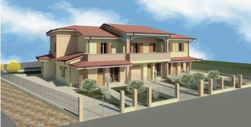 progetto abitazione bifamiliare