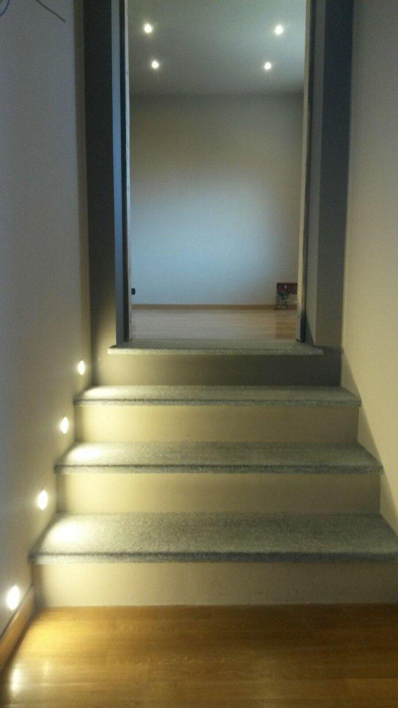 illuminazione gradini scale