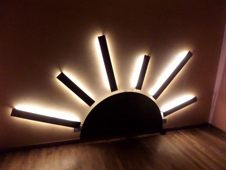 illuminazione pavimento