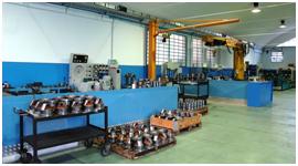 reparto assemblaggio cilindri