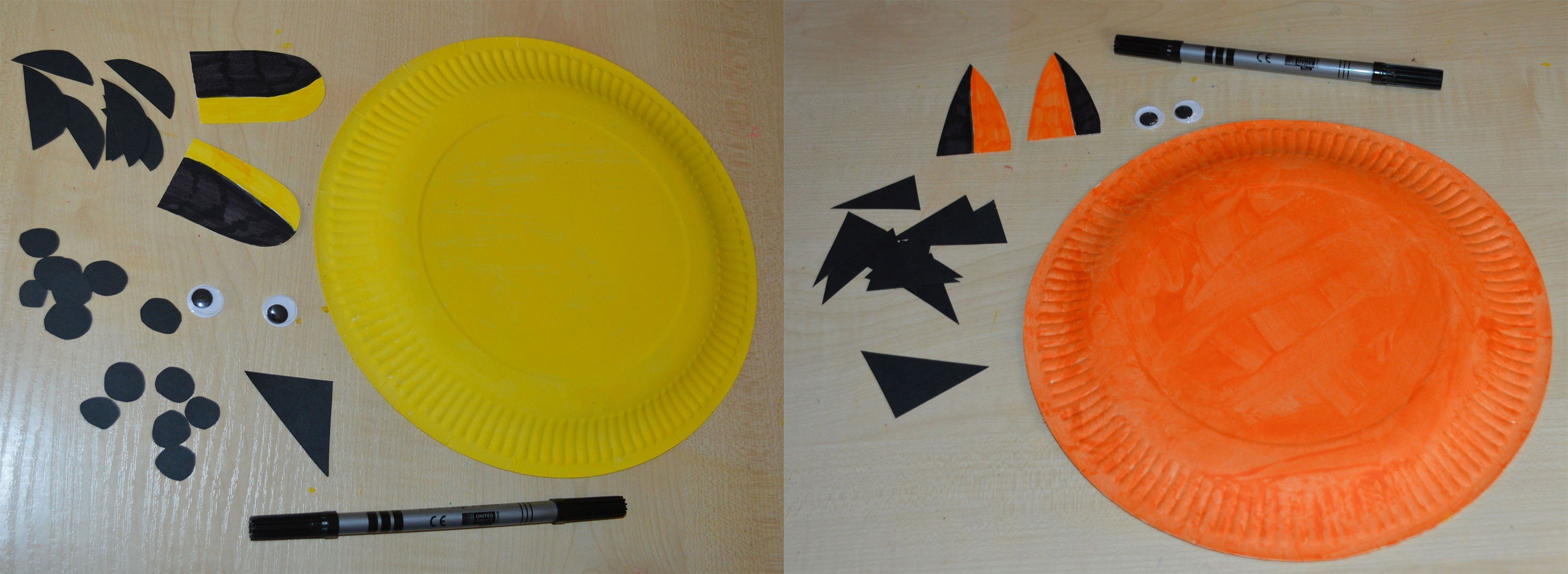 Paper Plate Animal S Cheetah And Tiger & Amusing Paper Plate Tiger Images - Best Image Engine - maxledpro.com