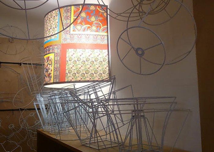 strutture in metallo per paralumi