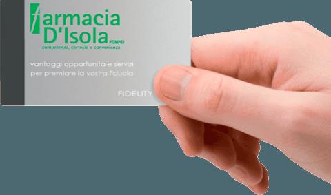 Farmacia D'Isola - Carta della Salute Fidelity Card