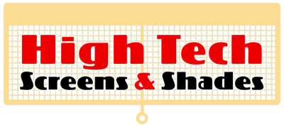 High Tech Screens and Shades Logo