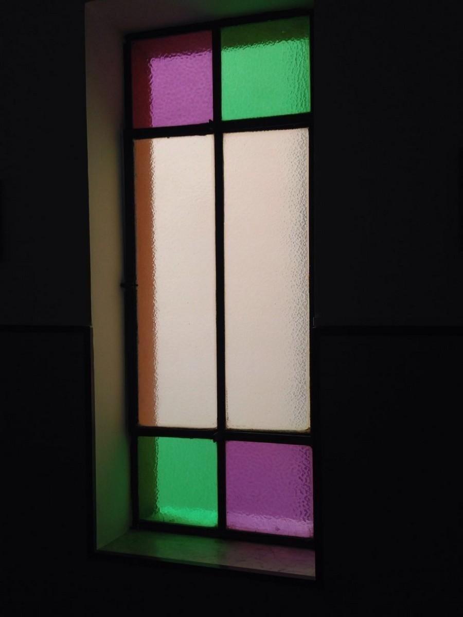 finestra colorata