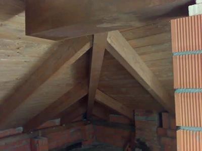 Capriata in legno