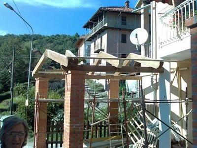 Riparazione tettoie
