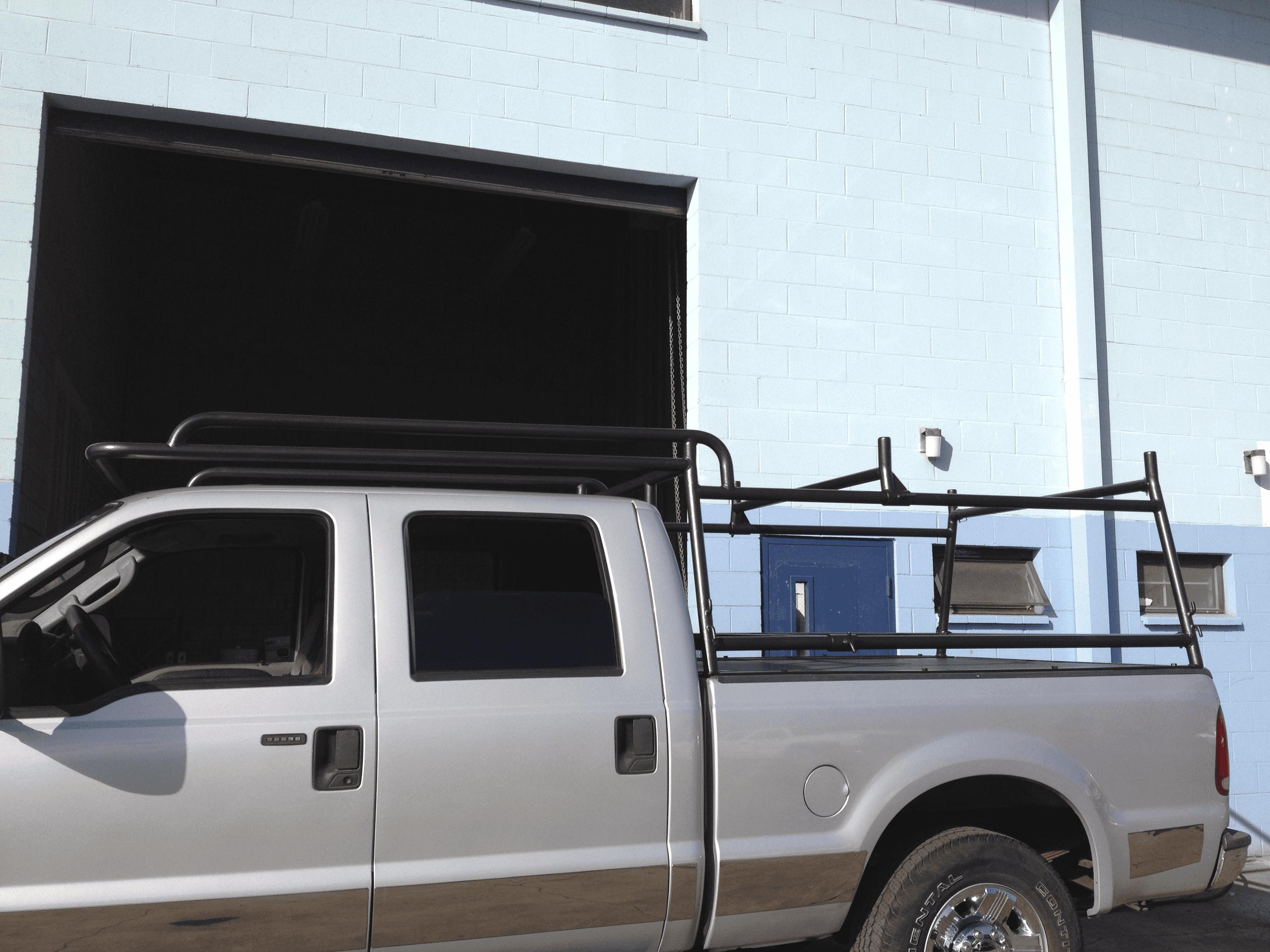 Custom built pipe rack