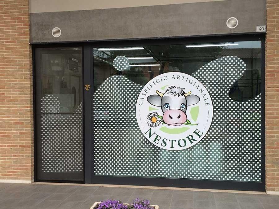 Vetrofanie negozi - Image Pubblicità