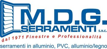 M.D.G. SERRAMENTI snc - LOGO