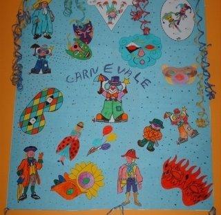 decorazioni e disegni, festeggiamenti, carnevale