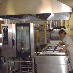 istituto geriatrico, cucina, mangiare centro anziani