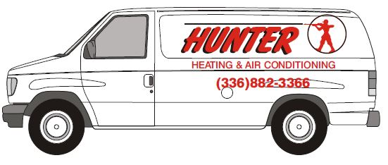 team of heating and cooling service