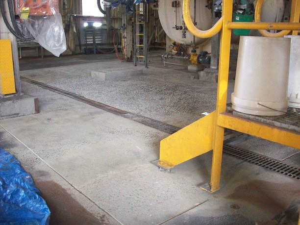 Concrete projects naval base