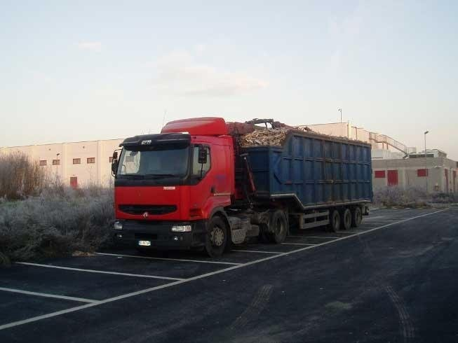 transportation of inert materials