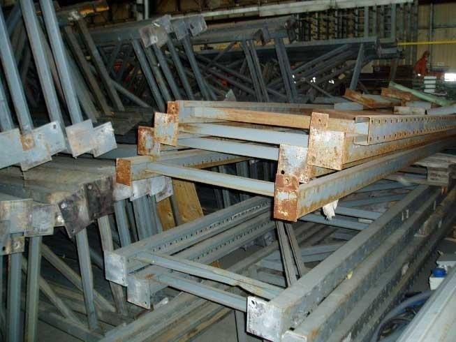 rental of scrapping material
