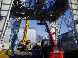dismantling industrial plants