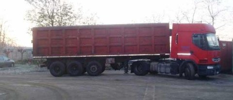 rental of containers with varying sizes