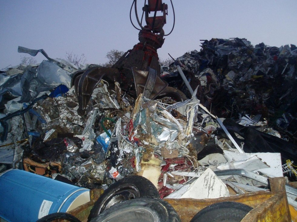 frantumazione rifiuti