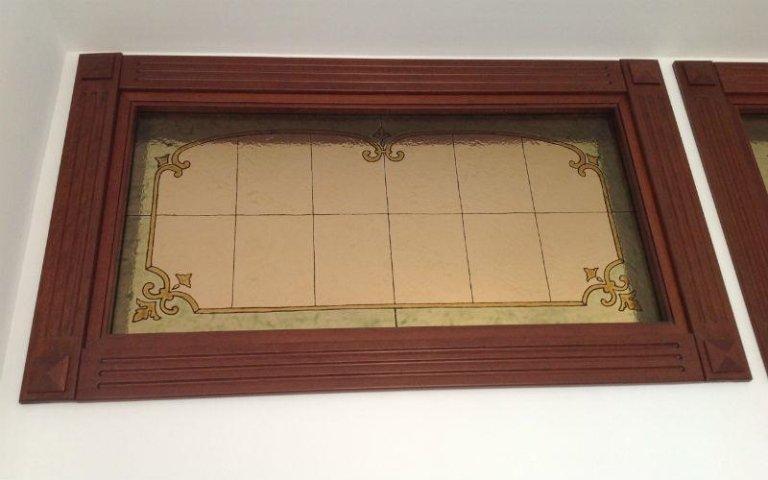 infissi legno e vetro