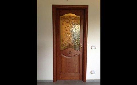 porta vetro bucolico