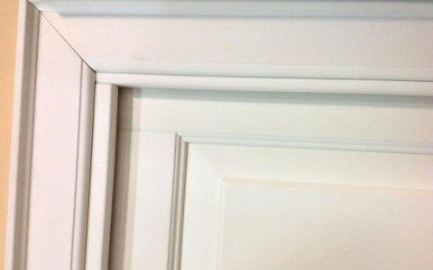 telaio porta bianco