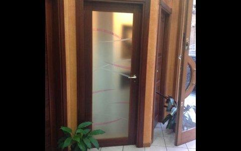 porta vetro rosa