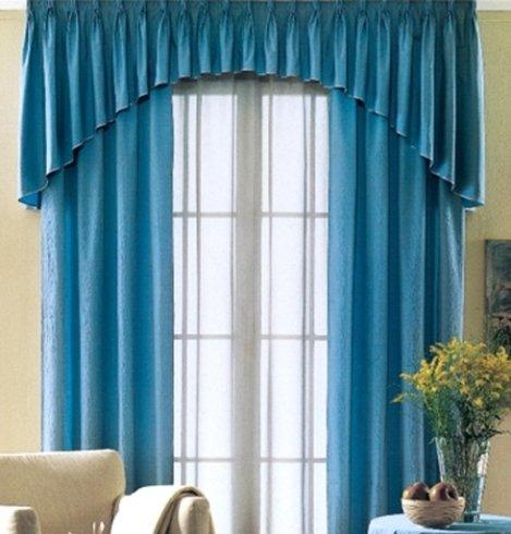 Tenda barocca blu