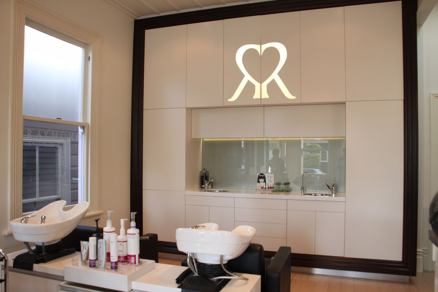 A hair salon in Auckland