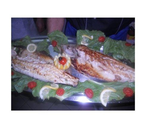 Pesce al forno e alla griglia