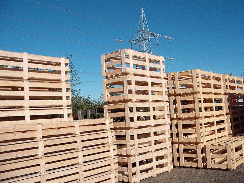 Starbox wooden pallets