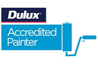 intelligent roof coatings dulux accredited painter logo
